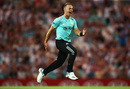 Tom Curran destroyed the Glamorgan top order with a hat-trick, Surrey v Glamorgan, Vitality Blast, July 25, 2019