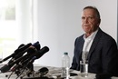 Trevor Hohns, Australia's chairman of selectors, speaks to the media after announcing the Ashes squad, Southampton, July 26, 2019