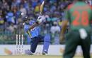 Angelo Mathews flays one away, Sri Lanka v Bangladesh, 1st ODI, Colombo