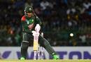 Mushfiqur Rahim shapes up for a scoop, Sri Lanka v Bangladesh, 1st ODI, R Premadasa Stadium, July 26, 2019