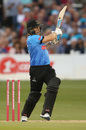 Luke Wright swings into the leg side, Sussex v Surrey, Vitality Blast, South Group, Hove, July 26, 2019