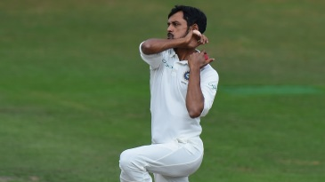 Shahbaz Nadeem bowled with guile and control