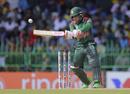 Mushfiqur Rahim shapes to play the ball, Sri Lanka v Bangladesh, 2nd ODI, Colombo, July 28, 2019