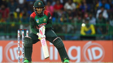 Mushfiqur Rahim shapes to play the scoop