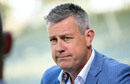 Ashley Giles addresses the media, Birmingham, July 29, 2019