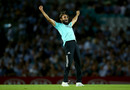 Imran Tahir brought out his trademark celebration, Surrey v Glamorgan, Vitality Blast, July 25, 2019