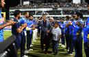 Nuwan Kulasekara got felicitated after the final ODI, Sri Lanka v Bangladesh, 3rd ODI, Colombo, July 31, 2019