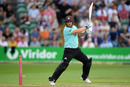 Aaron Finch crunches through backward point, Somerset v Surrey, Vitality Blast, August 2, 2019