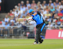 Riki Wessels belts one down the ground, Lancashire Lightning v Worcestershire Rapids, Vitality Blast, Emirates Old Trafford, July 26, 2019