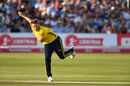 Liam Dawson proved hard to get away, Sussex v Hampshire, Vitality Blast, Hove, July 24, 2019