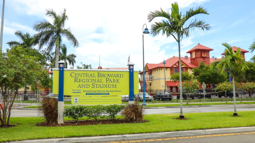 Central Broward Regional Park in Lauderhill, Florida is the only ICC ODI accredited venue in the USA