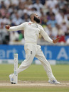 Moeen Ali bowls, England v Australia, 1st Test, Birmingham, 4th day, August 4, 2019