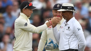 Ball management will be a key part of cricket in the post Covid-19 era, but umpires may be wearing gloves to do it