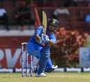 Rishabh Pant whips one into the leg side, West Indies v India, 3rd T20I, Providence, August 6, 2019
