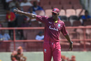 Carlos Brathwaite sets the field, West Indies v India, 3rd T20I, Providence, August 6, 2019