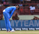 Rahul Chahar looks on, West Indies v India, 3rd T20I, Providence, August 6, 2019