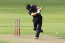 Harry Swindells forces one through the leg side, Durham v Leicestershire, Vitality Blast, July 31, 2019