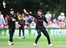 Colin Ackermann appeals for a leg-before shout, Worcestershire v Leicestershire, Vitality Blast, August 4, 2019
