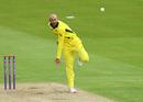 Ashton Agar bowls for Australia A, Northamptonshire v Australia A, Tour match, Wantage Road, June 20, 2019