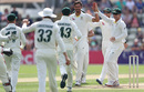 Mitchell Starc claimed a solitary wicket on the second day, Worcestershire v Australians, Tour match, New Road, August 8, 2019