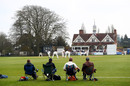 The Parks, in Oxford, regularly hosts an early-season first-class fixture between the MCCU side and a county, Oxford MCCU v Surrey, March 28, 2017