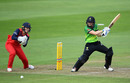 Heather Knight flays one away through cover point, Western Storm v Lancashire Thunder, Taunton, August 10, 2019