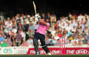 Dawid Malan drives through the off side, Surrey v Middlesex, Vitality Blast, The Kia Oval, July 23, 2019