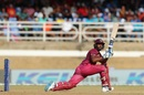 Nicholas Pooran sweeps for four, West Indies v India, 2nd ODI, Port of Spain, August 11, 2019