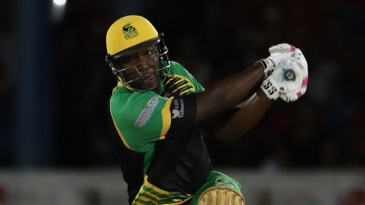 Andre Russell clubs one down the ground
