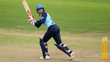 Lauren Winfield's 56 underpinned Yorkshire Diamonds' innings