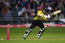 James Bracey works one off the pads, Gloucestershire v Hampshire, Bristol, August 13, 2019