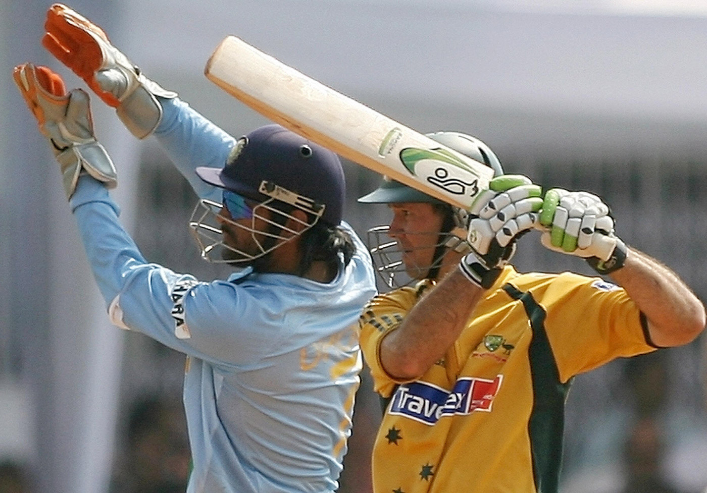 Ponting and Dhoni make it to both of Styris' XIs