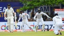 Kane Williamson was out for 0, after lobbing a ball straight to Dimuth Karunaratne , Sri Lanka v New Zealand, 1st Test, Galle, 1st day, August 14, 2019