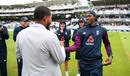 Jofra Archer was given his Test cap by Sussex team-mate and close friend Chris Jordan, England v Australia, 2nd Test, Lord's, August 14, 2019