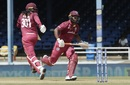 Evin Lewis and Chris Gayle flayed the new ball to all parts, West Indies v India, 3rd ODI, Port of Spain, August 14, 2019