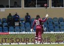 Chris Gayle acknowledges the crowd on his way back, West Indies v India, 3rd ODI, Port-of-Spain, August 14, 2019