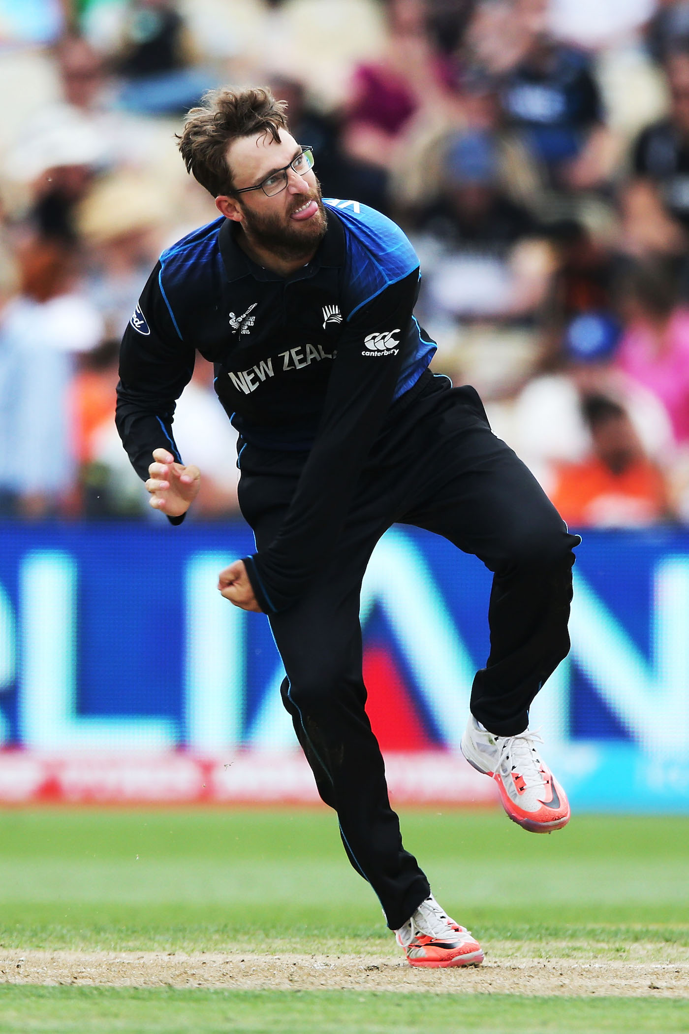 Face of deception: Vettori's mastery of drift and variation gets him a spot in the bowling lineup