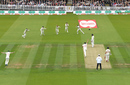 Australia's slip cordon start to celebrates as Jason Roy is caught behind, England v Australia, 2nd Test, Lord's, 2nd day, August 15, 2019