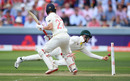 It looked at first like Cameron Bancroft had shelled the chance at short leg, England v Australia, 2nd Test, Lord's, 2nd day, August 15, 2019