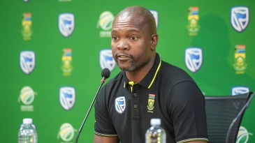 Enoch Nkwe is positive about the road ahead for South African cricket