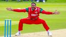 Kaleemullah roars a loud appeal for lbw, Scotland v Oman, CWC League T20 tri-series, 2nd ODI, Aberdeen, August 15, 2019