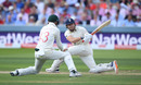 Jonny Bairstow gets low to sweep, England v Australia, 2nd Test, Lord's, 2nd day, August 15, 2019