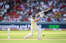 Jonny Bairstow flays a drive through the covers, England v Australia, 2nd Test, Lord's, 2nd day, August 15, 2019