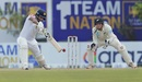 Dimuth Karunaratne unfurls a cover drive, Sri Lanka v New Zealand, 1st Test, Galle, 2nd day, August 16, 2019