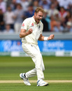 Stuart Broad roars in celebration, England v Australia, 2nd Test, Lord's, 4th day, August 17, 2019
