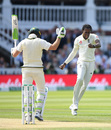 Jofra Archer celebrates after removing Tim Paine, England v Australia, 2nd Test, Lord's, 4th day, August 17, 2019
