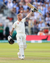 Ben Stokes raised his seventh Test century, England v Australia, 2nd Test, Lord's, 5th day, August 18, 2019