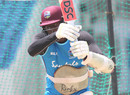 Jason Holder bats in the nets, Antigua, August 19, 2019