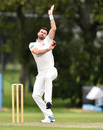 James Anderson in action for Lancashire's 2nd XI, Liverpool, August 20, 2019