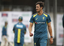 Mitchell Starc bowled a quick spell in the nets, Headingley, August 20, 2019